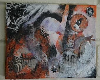 "Halloween - 10""x8"" Canvas"