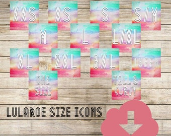 LuLaRoe Album Covers and Size Icons for Facebook/Web