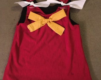 College Team Baby Dress