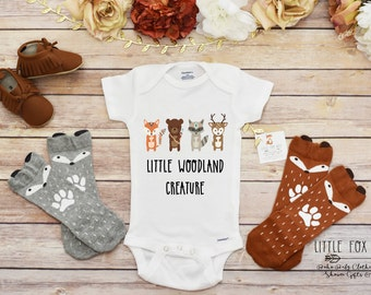 Baby Boy Clothes, Baby Boy Onesies®, Woodland Creatures
