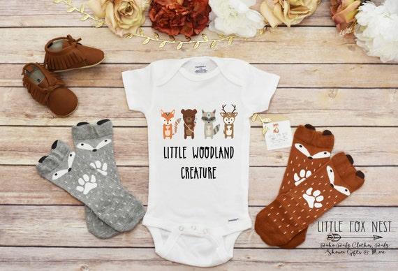 Baby Boy Clothes Baby Boy esies Woodland Creatures