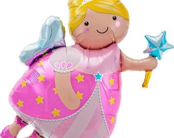 """Fairy Balloon-36"""" Balloon- Princess Balloon- Fairy Godmother Balloon"""