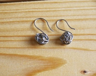 Stainless steel earrings. Stainless steel earrings.