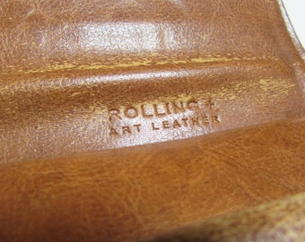 REDUCED - Vintage Leather Purse - coin purse
