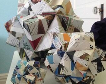 Icosahedron Origami Decoration