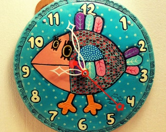 "Wall Clock ""Bird"""