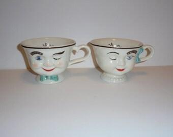 Vintage Bailey's Mugs Pair