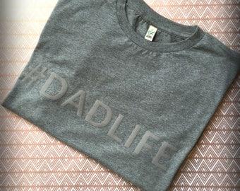 Men's Organic, Climate Neutral and Fair Wear Jersey T-Shirt (#INSTADAD #DADLIFE or CUSTOM)