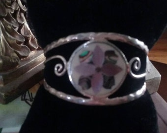 Pretty Mother of Pearl Cuff Bracelet