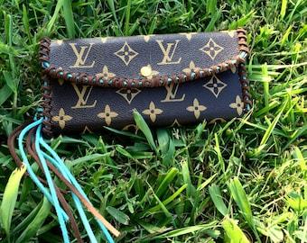LV Fringe Wallet