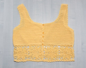 crocheted Tank ,crocheted Top
