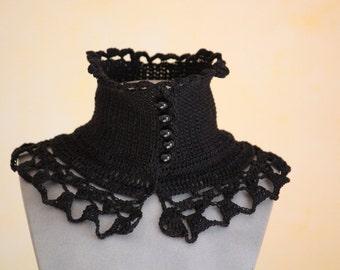 Neck warmer black