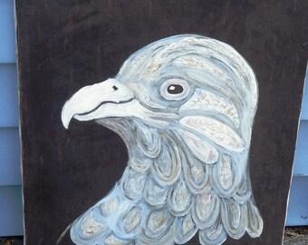 Kate's Eagle acrylic painting on canvas.