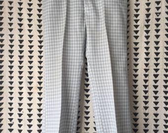 Vintage, Mens, Checkered, Slacks, vintage golf pants