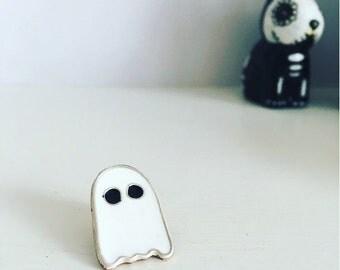ghost enamel pin//Ghost pin