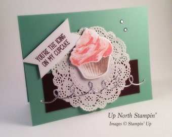 Sweet Cupcake A2 Greeting Card