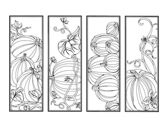 Fall Coloring Bookmarks on Earthworm Anatomy Coloring Sheet
