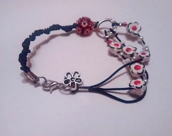 Woman hand made bracelet CLORIS
