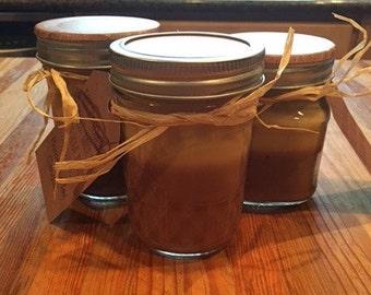 Banana Nut Bread - Mason Jar Soy Candle