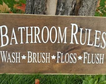 Bathroom Signs Canada bathroom signs | etsy
