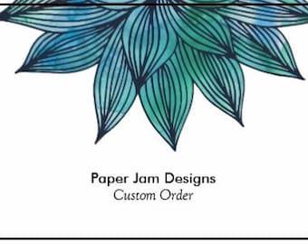 Custom Paper Garland Order