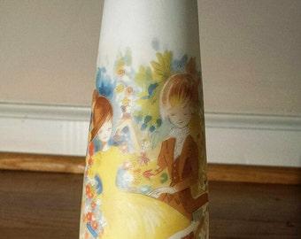 Vintage Foster Flower Vase from 1970's