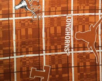 Texas Longhorn Fabric