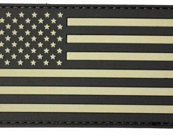Tactical Army USA Flag Velcro Patch