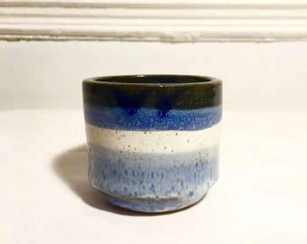 Handmade incense holder or cup