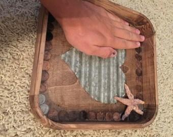 Real penny tray