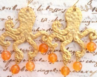 octopus Octopus earrings