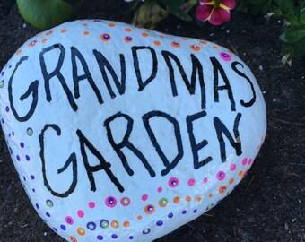 Grandma's Garden rock