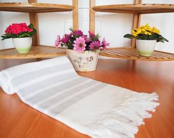 Light Grey,Herringbone Turkish Towel,Turkish Bath Towel Light Grey Turkish Towel,Turkish Bath Towel,Blanket,grey Herringbone towel