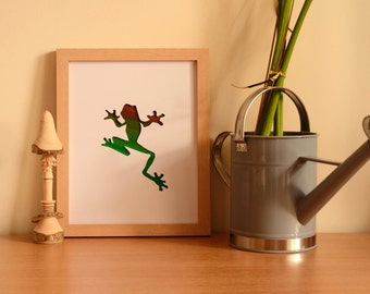 Tree frog, without frame