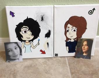 custom paintings and custom artwork