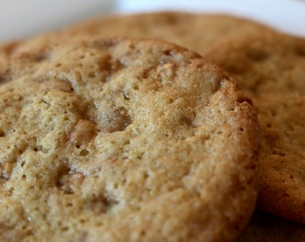 Butter Brickle Toffee Cookies