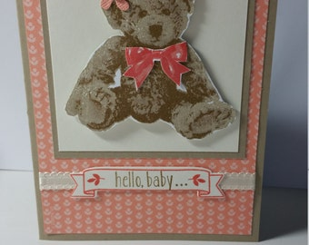 Baby Girl- Greeting Card