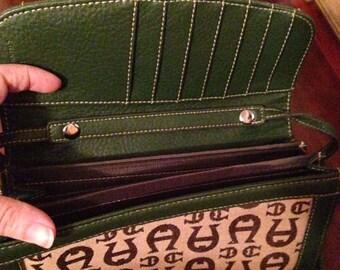 Aigner wristlet purse