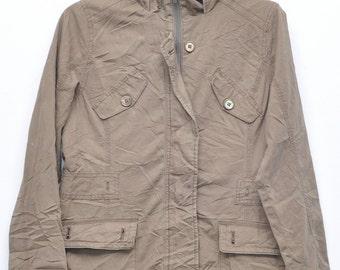 Vintage brown Jacket Awesome jacket Man Jacket Adult Rare Jacket Medium Size