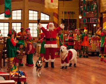 Santa's Workshop Digital Download