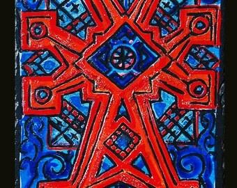 Engraving cross Armenian Elisabeth 5
