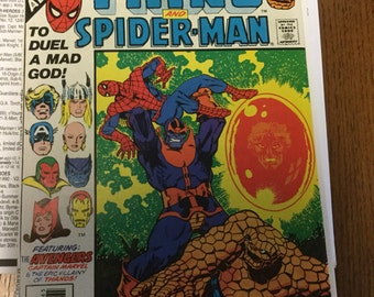 Marvel Two-In-One Annual 2 from 1977