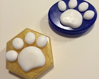 Puppy Paw Print Soaps!