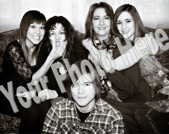 Large Family Portrait - Personalized & Magnetized