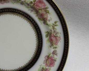 Haviland & Co.  Limoges Vintage Plate  1930's