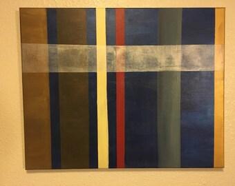 Geometrical Art Piece on 16x20 Canvas
