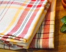 Handwoven dish towel - Extra large handmade dishtowel kitchen towel tea towel bread cloth centerpiece - Gift for her hostess gift farmhouse