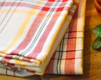 Handwoven dish towel - Extra large handmade dishtowel kitchen towel tea towel centerpiece - Gift for her hostess gift farmhouse