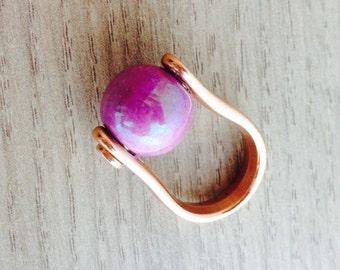 Ring ceramic ball