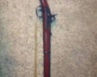 Rare 1960's Marx 1863 Sprinfield Civil war Musket